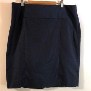 LIMITED Navy Pencil Skirt 14